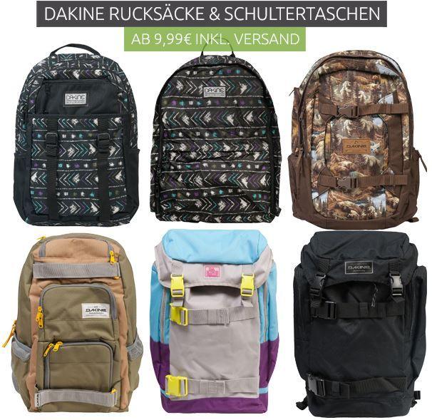 Dakine Rucksäcke & Schultertaschen ab 9,99€