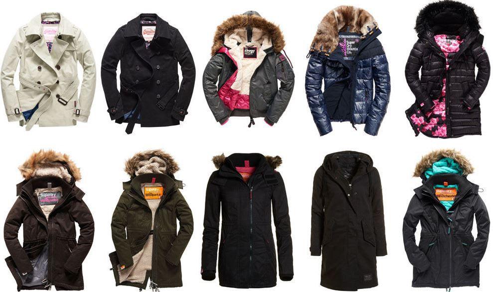 Superdry Damen Jacken   28 neue Modelle für je 59,95€