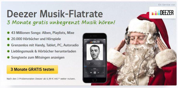 Top! 3 Monate Deezer Premium Plus kostenlos statt 29,97€