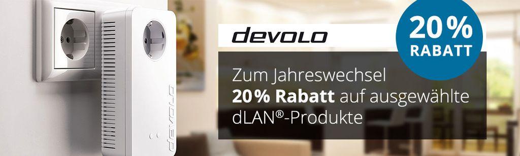 Comtech   20% Rabatt auf einige Devolo Artikel