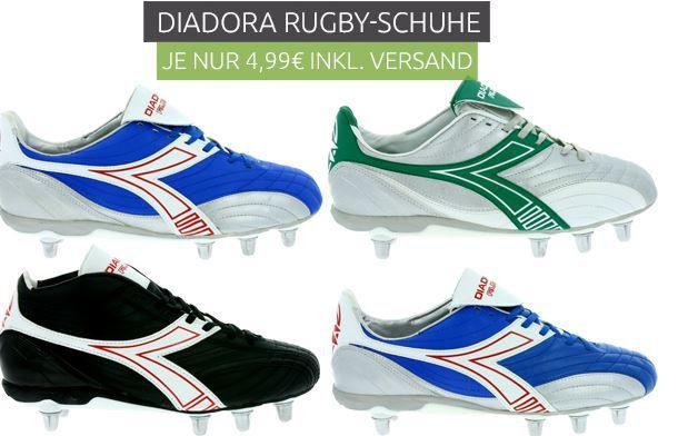 Diadora Rugby Hi R SC 8 Herren Rugby Schuhe für nur 9,99€ (statt 33€)