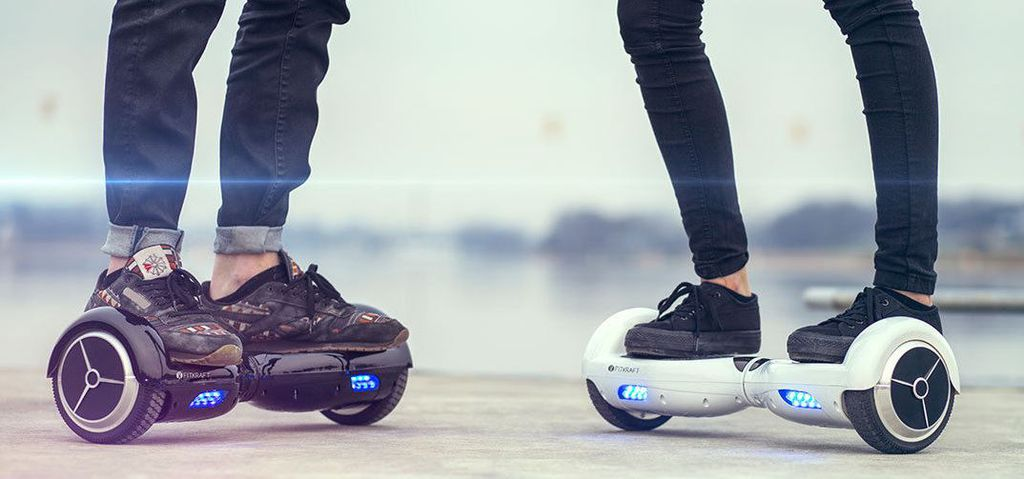 Hoverboard Fitkraft   10 Zoll Smart Balance Elektroroller für 239,95€