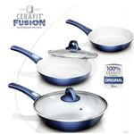 Genius Cerafit Fusion Keramik Pfannen Set – 7 teilig für 69,90€