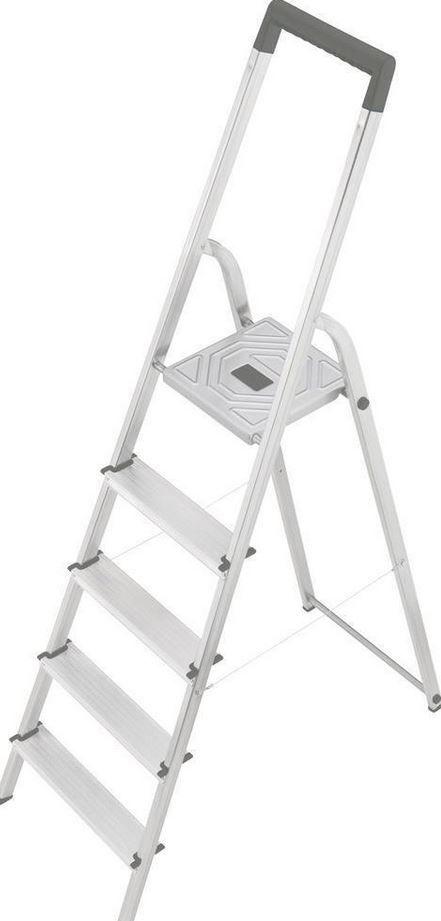 Hailo 8925 321   5 Stufen Stehleiter für 29,44€ (statt 41€)