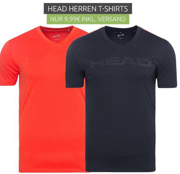 HEAD Transition M T4S V Neck Sportshirts für je 9,99€ (statt 18€)