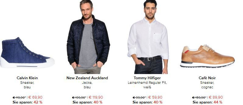 dress for less   bis zu 70% Rabatt + 20% extra Neukunden Rabatt auf alles    z.B. Tommy Hilfiger Denton Jeans für 69,91€