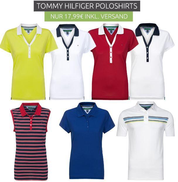 Tommy Hilfiger Damen Poloshirts statt 30€ für nur 17,99€