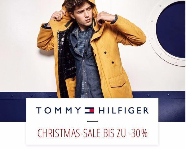 Tommy Hilfiger Chritsmas Sale   bis zu 30% Rabatt auf Herrenbekleidung