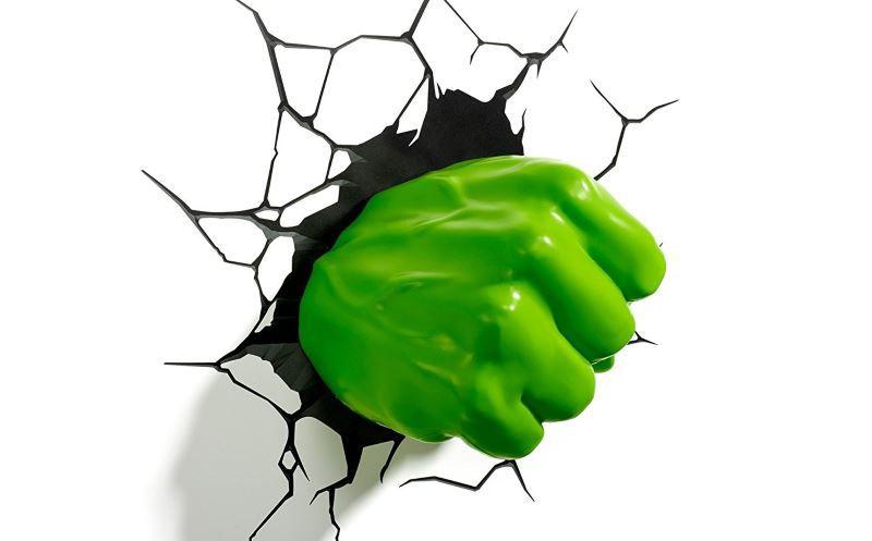 Hulk Nerd Gadget Wandlampe