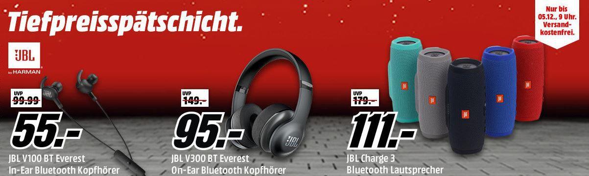 JBL Aktion BL V100BT Everest Kopfhörer für 55€ in der Media Markt JBL! Tiefpreisspätschicht