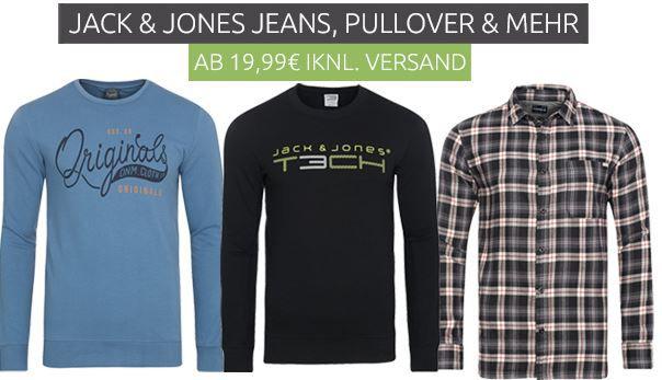 Jack & Jones mini Sale mit Jeans & Pullover ab 19,99€