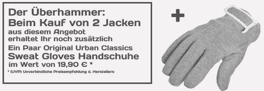 URBAN CLASSICS   Winter Jacken & Parkas für Damen & Herren + Mütze für 39,90€