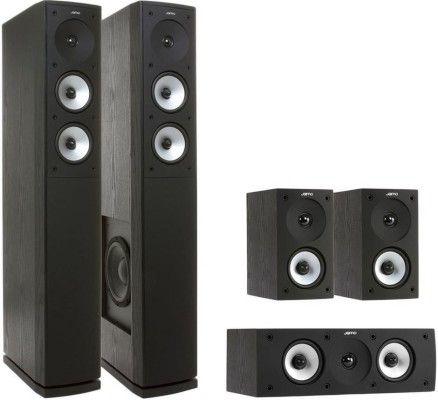 Jamo S 626 HCS 3 Heimkinosystem schwarz für 332,10€ (statt 369€)