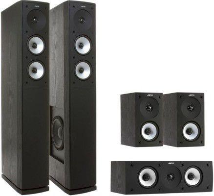 Jamo S 626 HCS 3 e1482419633111 Jamo S 626 HCS 3 Heimkinosystem schwarz für 306€