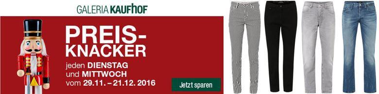 Galeria Kaufhof heute mit 20% auf alle Damen & Herren Jeans