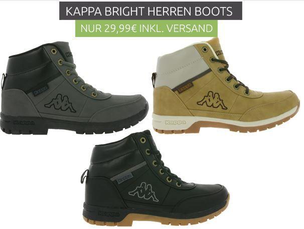Kappa Bright   Herren Trecking Boots für nur 29,99€