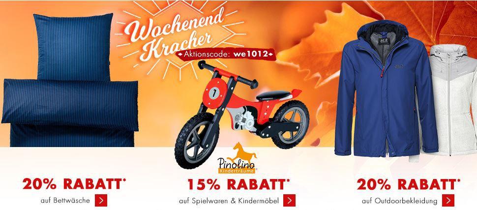 Karstadt Rabatt Aktion Karstadt mega Weekend Late Night mit z.B. 20% Rabatt auf Spielwaren oder Küchenmaschine Bosch MUM für 99€