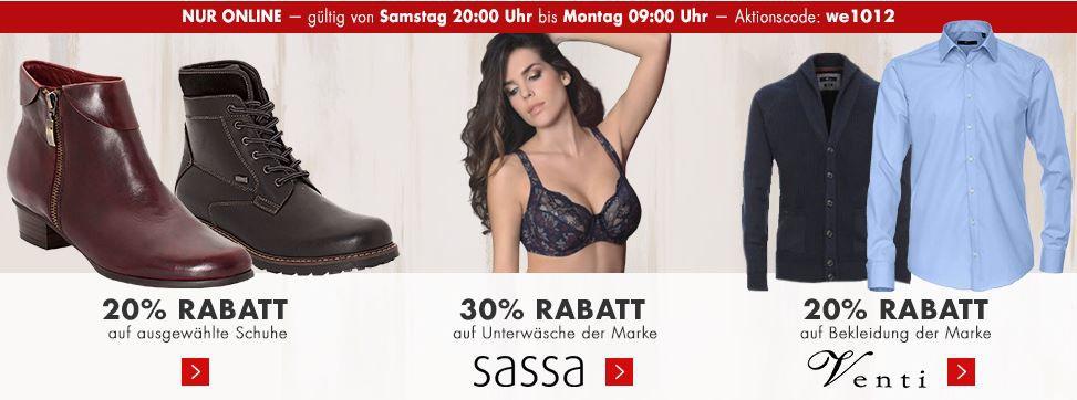 Karstadt XMS Aktion Karstadt mega Weekend Late Night mit z.B. 20% Rabatt auf Spielwaren oder Küchenmaschine Bosch MUM für 99€