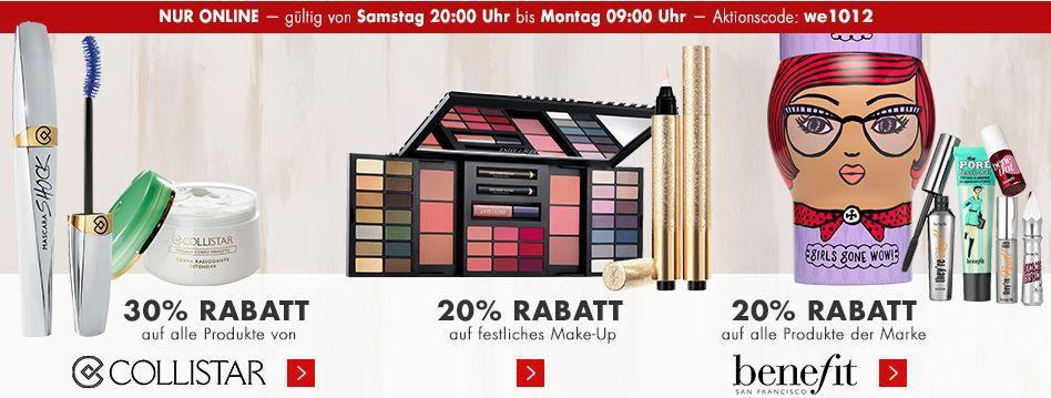 Karstadt rabattaktion Karstadt mega Weekend Late Night mit z.B. 20% Rabatt auf Spielwaren oder Küchenmaschine Bosch MUM für 99€