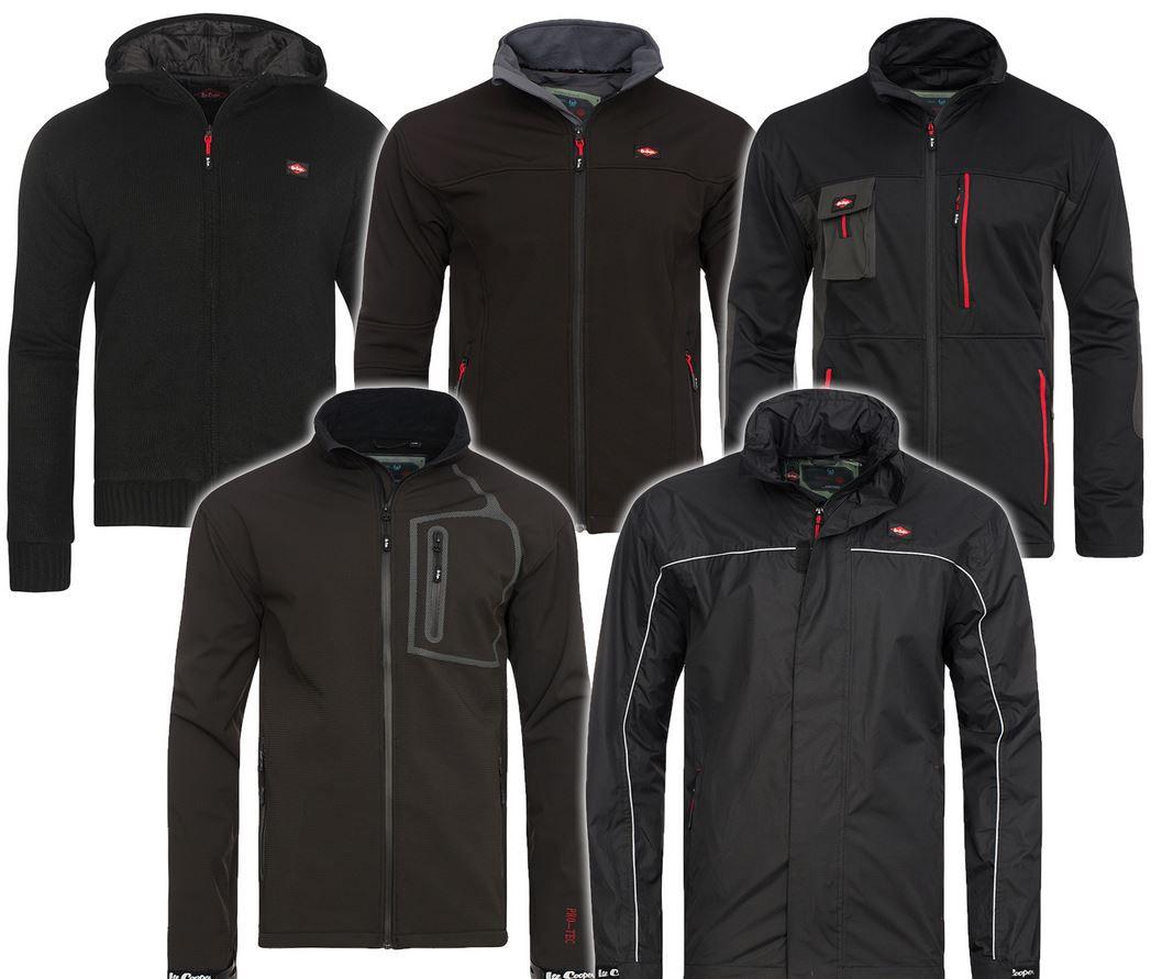 Lee Cooper Performance Workwear   Herren Funktions Jacken für je 19,99€