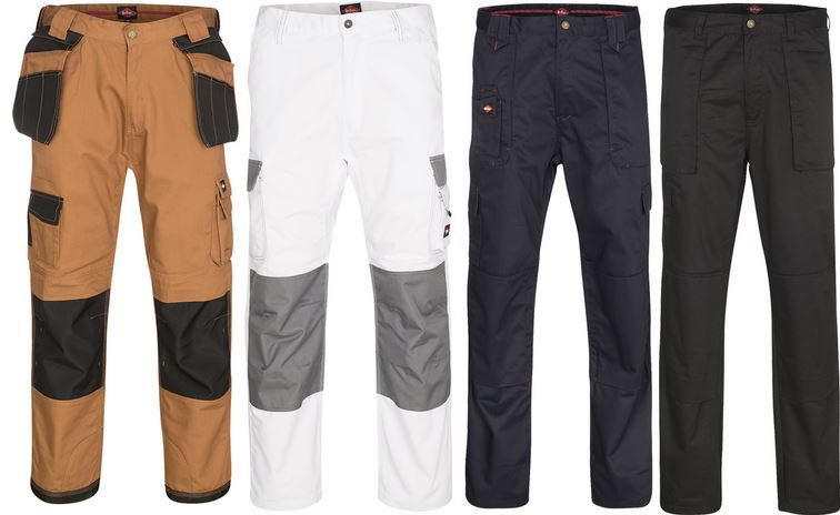Lee Cooper Performance Workwear   Herren Arbeitshose für 9,99€