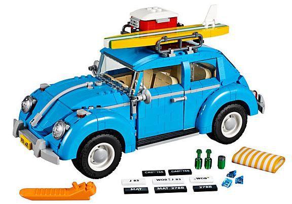 Lego Creator   VW Käfer (10252) mit Zubehör + gratis Spielfigur statt 106€ für 89,99€