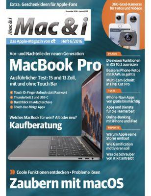 Eine Ausgabe Mac & i (digital) gratis   endet automatisch