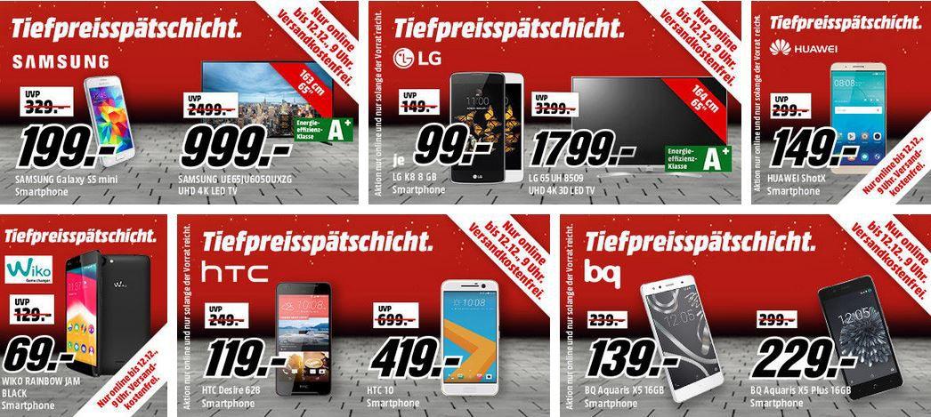 Media Markt  Mega Tiefpreisspätschicht: Samsung Galaxy S7 + Level On Wireless Pro Kopfhörer für 549€