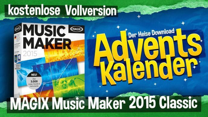 MAGIX Music Maker 2015 Classic kostenlos