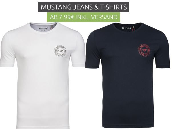 Mustang Jeans & T Shirts ab 7,99€