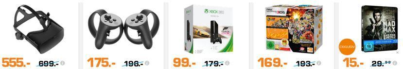 Oculus New Nintendo 3DS schwarz inkl. Dragon Ball Z: Extreme Butoden für 169€ und mehr günstige Angebote im Saturn Weekend Sale