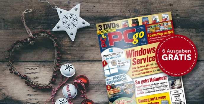 PCgo Halbjahresabo PCgo Classic DVD gratis – Kündigung notwendig