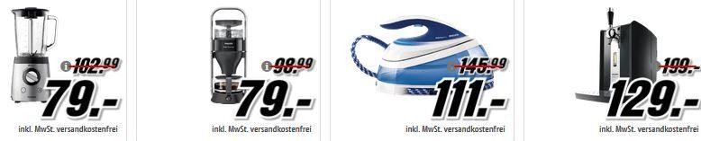 Media Markt Philips Tiefpreisspätschicht: günstige Fernseher, Körperpflegeprodukte und Haushaltsgeräte