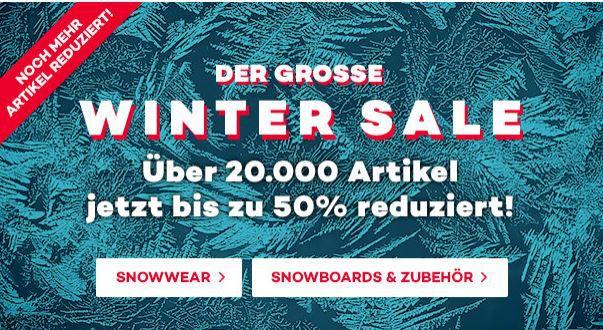 Plane t S ports Planet Sports Winter Sale mit bis 50% Rabatt + bis zu 50€ Gutschein   günstige Sport Hardware  u. Fashion