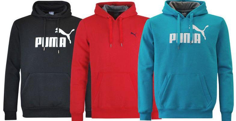 Puma Herren Hoody PUMA Herren Hoodies mit Big und Small Logo für 29,95€