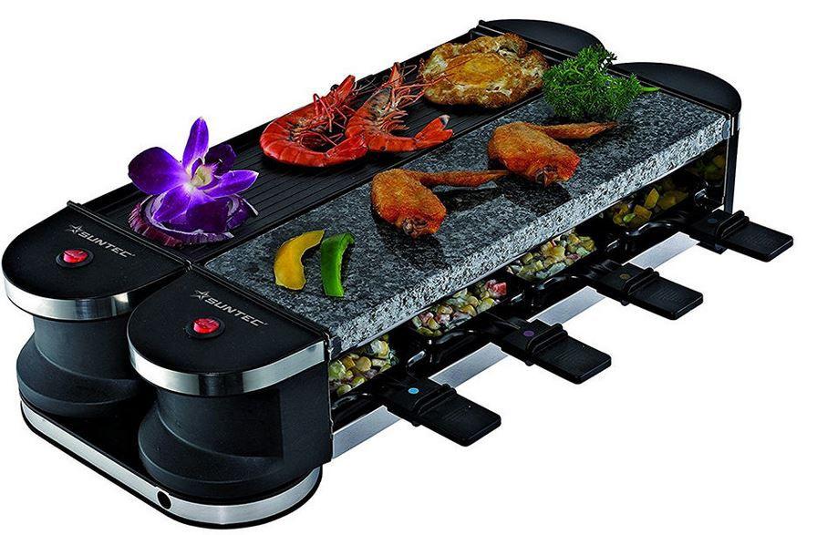 SUNTEC HOME RAC 8069 Essentials   8 Personen Raclette für nur 39,99€