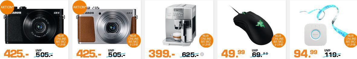 Saturn Super Sunday Angebote 2 Saturn Super Sunday Deals   z.B. DELONGHI ESAM 04.350 S Kaffeevollautomat statt 469€ für 399€