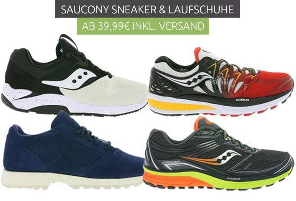 SAUCONY Sneaker für Damen und Herren   Restgrößen ab 39,99€