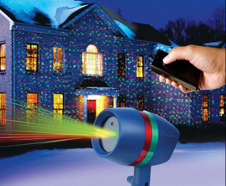 Star Shower Motion Projector Laser inkl Fernbedienung für 89,90€