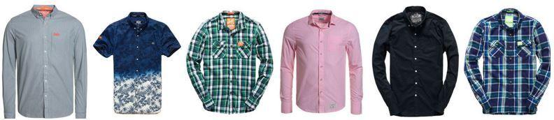 Superdry Herren Hemden Neue Modelle Superdry Herren Hemden   neue Modelle für je 22,95€
