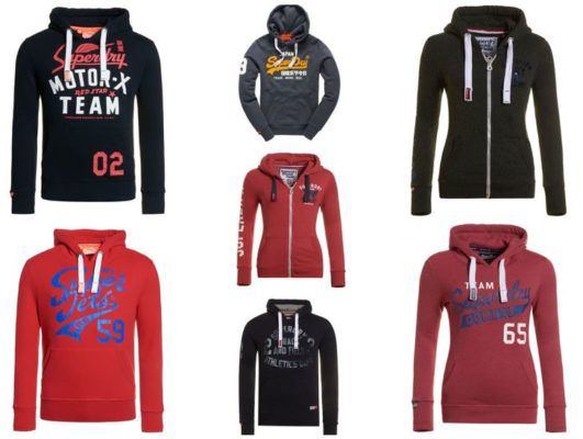 Superdry Hoodies 18 Modelle je 47,95€
