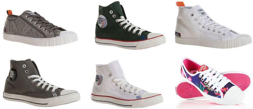 Superdry Sneaker für Damen und Herren ab 14,95€