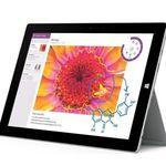 Microsoft Surface 3 WLAN Tablet mit 32GB für 369,90€