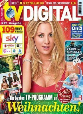 Jahresabo TV Digital XXL für 55,20€ + 50€ Gutschein