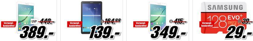 Media Markt SAMSUNG Tiefpreisspätschicht   günstige Smartphones, Tablets, Fernseher und Speicherkarten