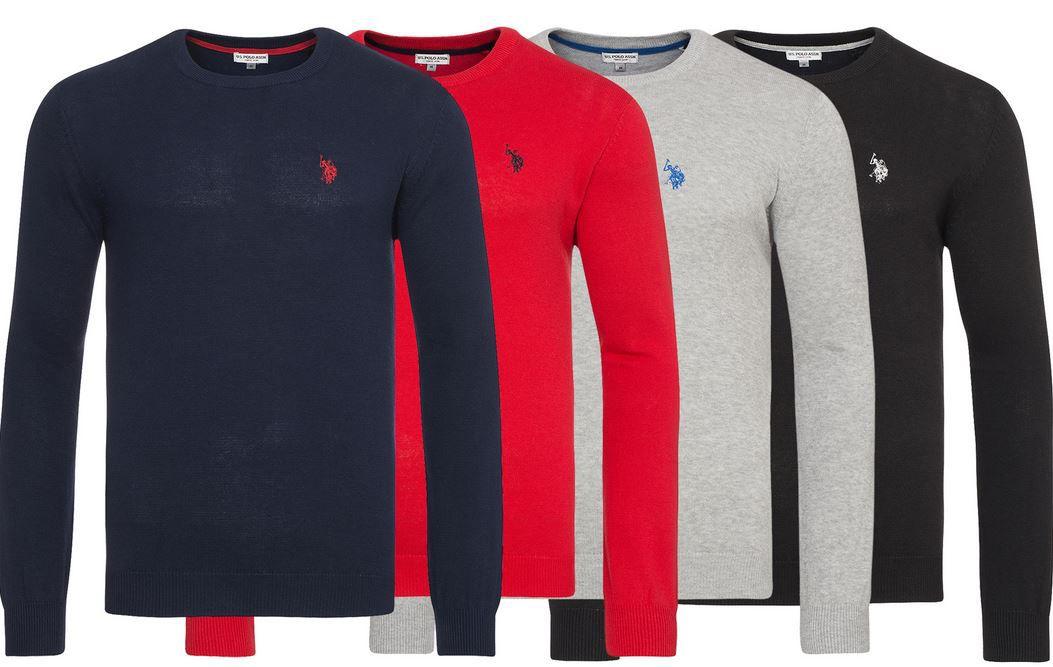 U.S. POLO ASSN. Rundhals Sweater U.S. POLO ASSN. Herren Rundhals Sweater für je 24,99€