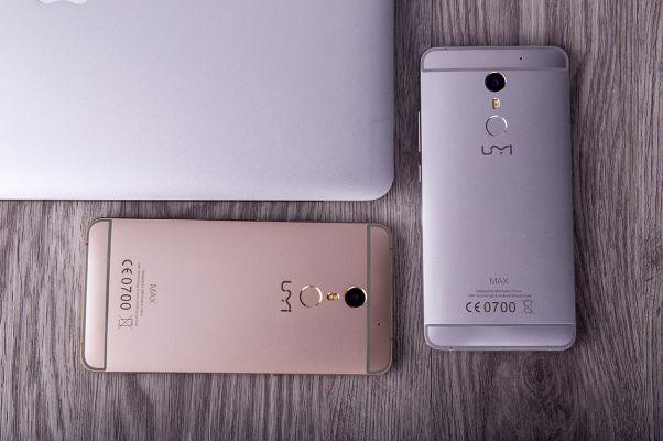 Umi Max   5,5 Zoll Full HD Smartphone mit Android 6 für 109,53€ (statt 160€)