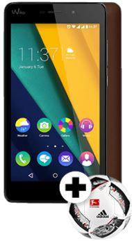 Wiko Pulp Fab   5,5 Zoll Smartphone + Adidas Fussball für 109€ (statt 176€)