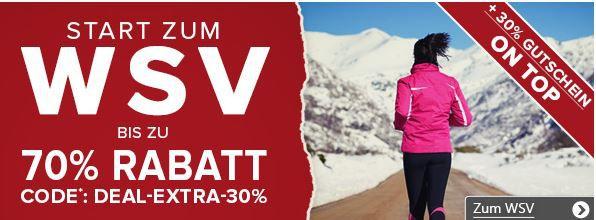 WSV Vaola Sport und Fashion WSV Sale mit bis zu 70% Rabatt + bis 30% Extra Rabatt