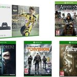 Xbox One S 500 GB + Fifa 17 + Assassin's Creed : Syndicate + Fallout 4 + The Division  + Dishonored 2 für 305,55€